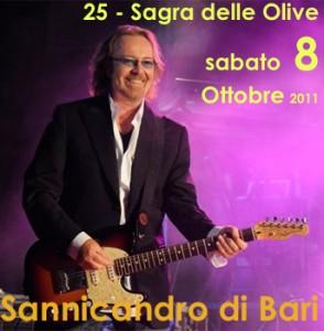 Umberto Tozzi Concerto Sagra delle Olive